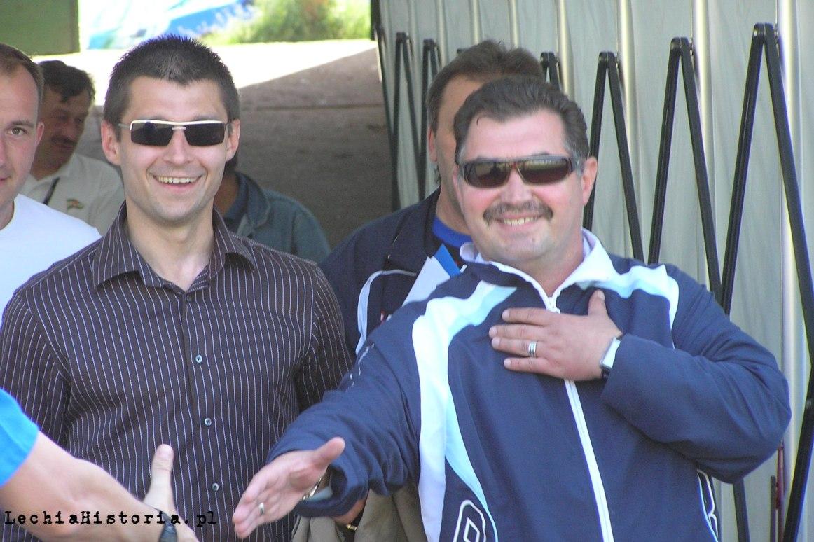 Marcin Kaczmarek i Bogusław Baniak, 2006 r.